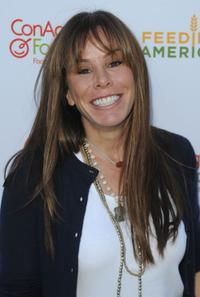 Melissa Rivers at the celebrity rally on ABC's Wisteria Lane.