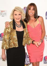 Joan Rivers and Melissa Rivers at the Comedy Central's Roast of Joan Rivers.