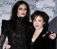 Marlene Jobert and daughter Eva Green at the Paris premiere of
