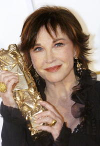 Marlene Jobert at the 32nd Cesars film awards.