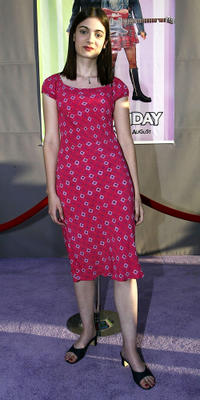 Haley Hudson at the California premiere of