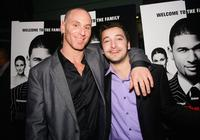 Matt Gerald and Anthony Fazio at the premiere of
