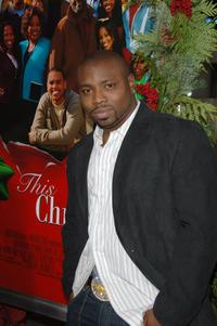 Page Kennedy at the screening of