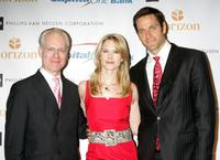 Tim Gunn, Stephanie March and Peter Hermann at the Safe Horizon Champion Awards.