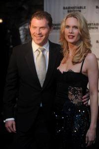 Bobby Flay and Stephanie March at the Barnstable Brown Kentucky Derby Eve Gala.