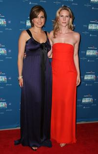 Mariska Hargitay and Stephanie March at the Joyful Heart Foundation Gala.