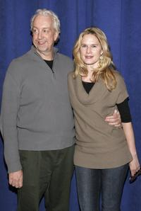 Director Robert Falls and Stephanie March at the