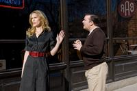 Stephanie March and Ricky Gervais as Mark Bellison in
