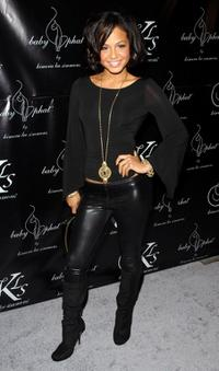 Christina Milian at the Baby Phat Fall 2008 fashion show.