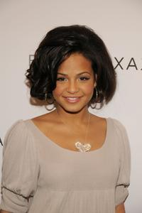 Christina Milian at the BCBGMAXAZRIA Fall 2008 fashion show.
