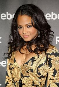Christina Milian at the Reebok