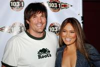 Paul Johansson and Tia Carrere at the Indie 103.1 Celebrates 103 Days in Los Angeles party.