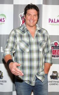 Paul Johansson at the LG All-Star Poker Showdown and Party.