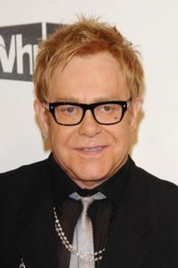 Elton John at the 16th Annual Elton John AIDS Foundation Academy Awards Viewing Party.