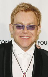 Elton John at the Elton John AIDS Foundation's sixth Annual benefit