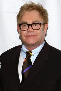 Elton John at the opening night of