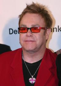 Elton John at the Move For Aids Book Launch.