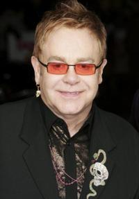 Elton John at the premiere of