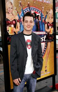 Mike Erwin at the premiere of