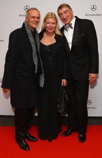 Edgar Selge, Brigitte John and Gottfried John at the 15th AIDS Gala.
