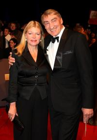 Brigitte John and Gottfried John at the Bambi Awards 2008.