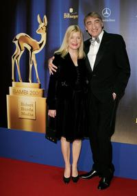 Brigitte and Gottfried John at the 58th annual Bambi Awards.