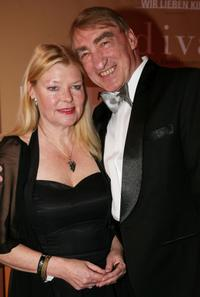 Gottfried John and his wife Brigitte at the Diva Awards.