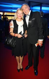 Brigitte John and Gottfried John at the German TV Award 2008.