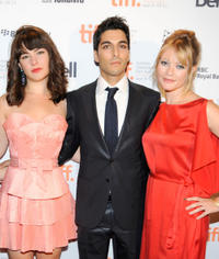 Katie Boland, Keon Mohajeri and Sarah Allen at the TIFF Rising Stars Party during the 2011 Toronto International Film Festival.