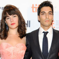 Katie Boland and Keon Mohajeri at the TIFF Rising Stars party during the 2011 Toronto International Film Festival.