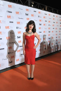 Katie Boland at the Opening Night party during the 2011 Toronto International Film Festival.