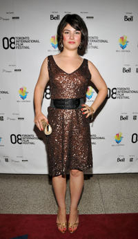 Katie Boland at the Canada premiere of