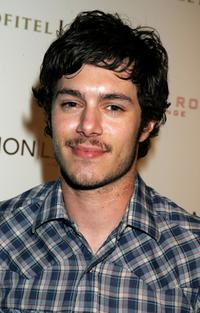 Adam Brody at the Stone Rose Lounge and Simon LA preview.