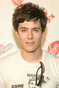 Adam Brody at the Virgin Mobile's