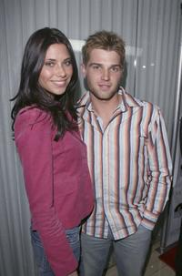 Mike Vogel and wife Courtney at the Los Angeles Confidential Pre-Oscar party.