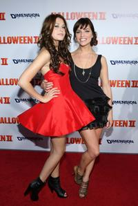 Scout Taylor-Compton and Angela Trimbur at the California premiere of