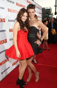 Scout Taylor-Compton and Kristina Klebe at the premiere of