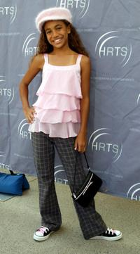 Paige Hurd at the Hollywood Radio and Television Society 10th annual Kids Day.