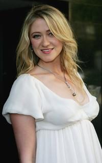 Siobhan Hewlett at the private screening of