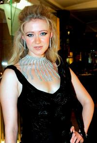 Siobhan Hewlett at the re-launch party of new