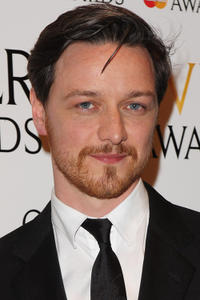 James McAvoy at the 2012 Olivier Awards in London.
