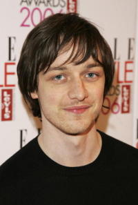 James McAvoy at the ELLE Style Awards 2006, the fashion magazine's annual awards celebrating style in London.
