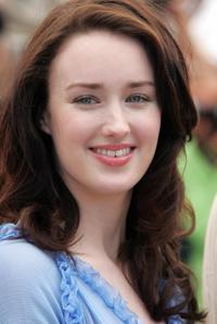 Ashley Johnson at the photocall of