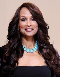 Beverly Johnson at the portrait session of