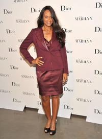 Beverly Johnson at the opening of