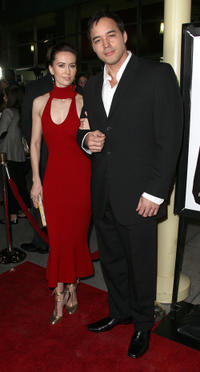 Erin Carufel and Scott Connors at the California premiere of