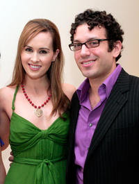 Erin Carufel and Tyrone Giordano at the California premiere of