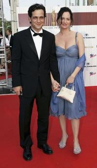 Robert Seeliger and Natalia Woerner at the German Film Awards.