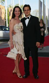 Natalia Woerner and Robert Seeliger at the German Film Awards.