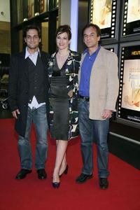 Robert Seeliger, Martina Gedeck and Peter Davor at the premiere of